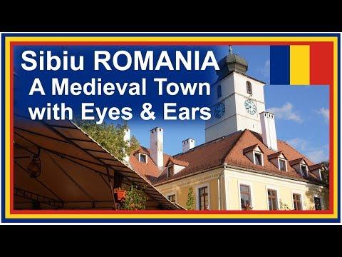 Romania Road Trip: Sibiu Travel Video Guide - Europe 2018