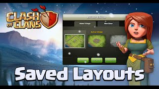 SAVED LAYOUTS!!! Clash of clans NEW Christmas UPDATE!!