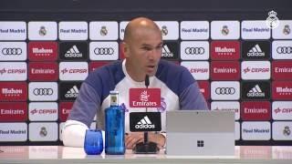"Zidane: ""Haremos todo lo posible para volver a ganar"""