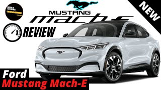 Ford Mustang Mach-E 2021 - Test Drive & Review (4K)