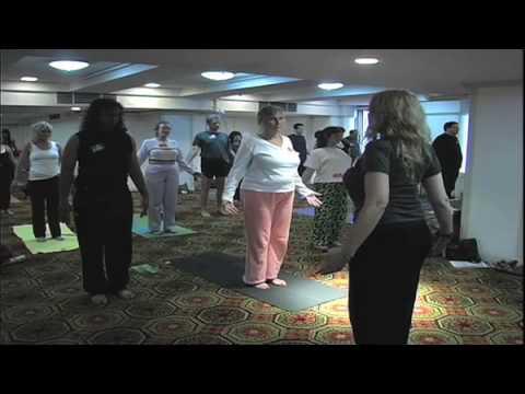 NY Kripalu Center presents at  NY Yoga and Raw Foods Expo 2009