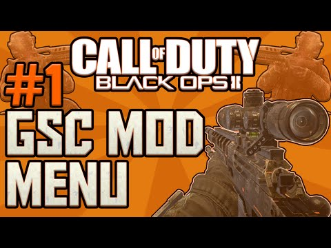 How To Make A Black Ops 2 GSC Mod Menu Part 1