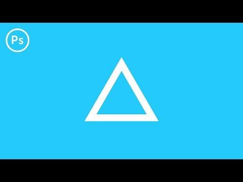 How To Make A Triangle | Photoshop CC Tutorial