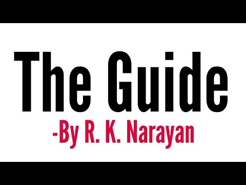 The Guide Novel By R. K. Narayan in Hindi summary Explanation and full analysis