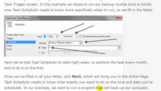 How to Use Windows 7 Task Scheduler