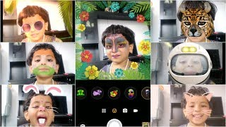 Face Filters and Effects for Kids Funny Activities