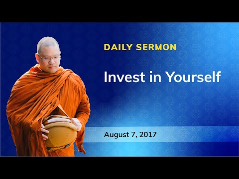 WSF Daily Sermon 2017 August 7 - Invest In Yourself - EN  LP Anan