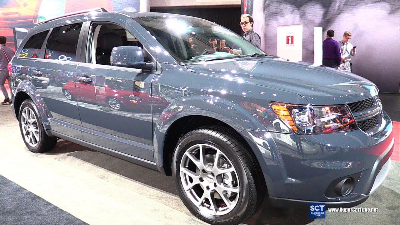 2017 Dodge Journey Gt Awd Exterior And Interior Walkaround 2016 La Auto Show