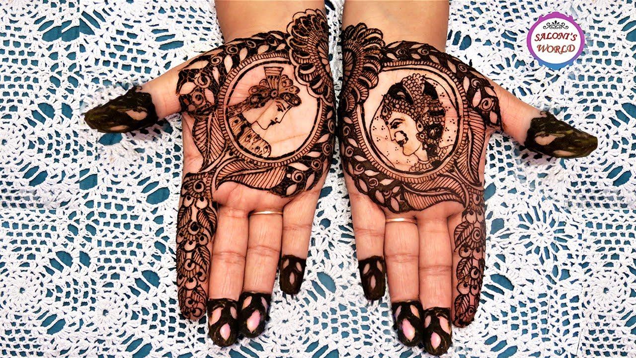 mehandi design of dulha