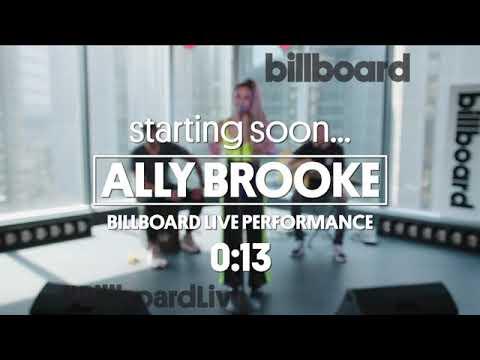 Ally Brooke - Billboard Live - Low Key & Lips Don't Lie