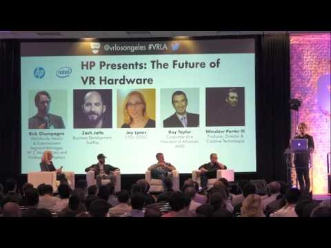 VRLA Summer Expo 2016: HP Presents, The Future of VR Hardware