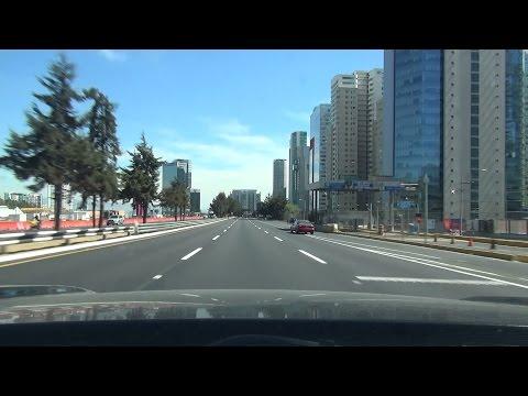 【Mexico drive】Santafe~Periferico~Viad. Pdte. Miguel Aleman