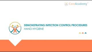 Demonstrating Infection Control Procedures