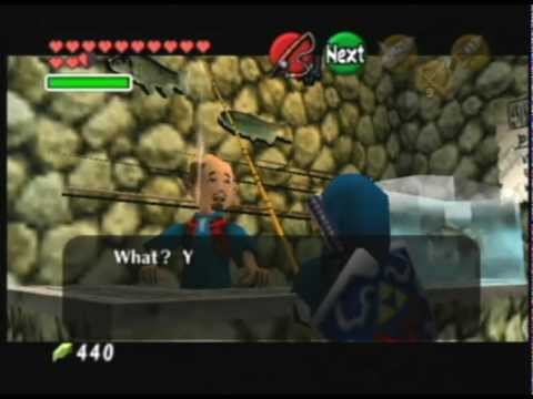 Zelda Ocarina Of Time 100% Walkthrough With Commentary - Part 47 - Sinking Lure