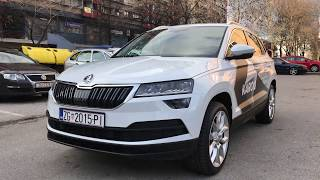 Škoda Karoq in depth review plus interior in dark with cool ambient lights! 4K