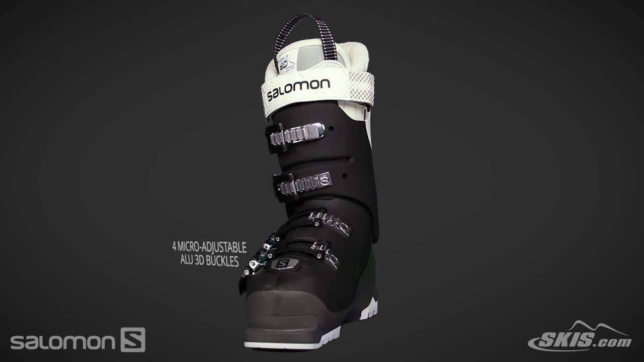 2018 Salomon X Pro 90W Womens Boot Overview by SkisDotCom