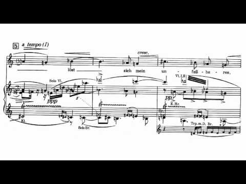 """Alban Berg - Five Orchestral Songs """"Altemberg-Lieder"""" [5/5]"""