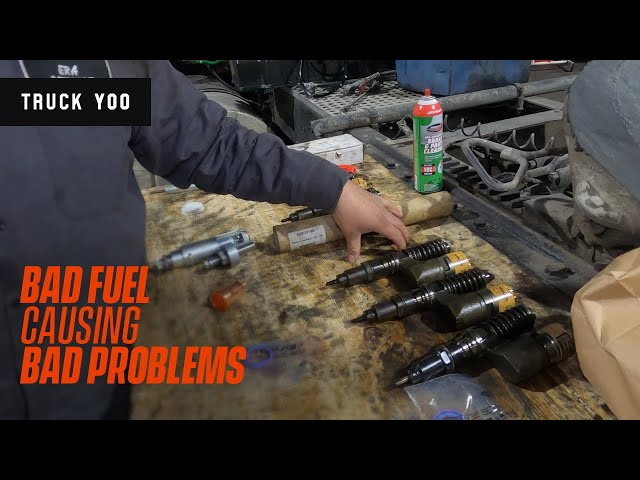 Bad fuel causing injector issues - D12