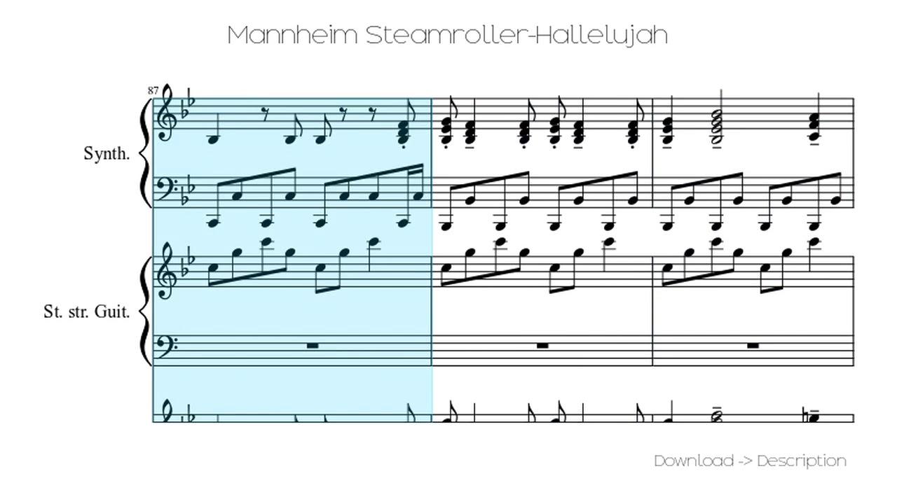 Download 🎶 Mannheim Steamroller-Hallelujah 🎸🎸