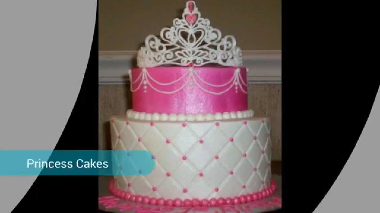 Fairy Princess Cake Images : Fairy Princess Cakes - YouTube