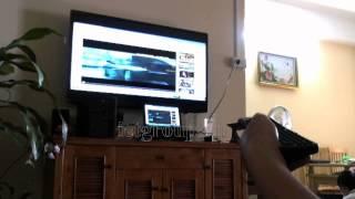 Bàn phím chuột không dây - Bút trình chiếu -  Pen slideshow - Air Mouse with qwerty Keyboard