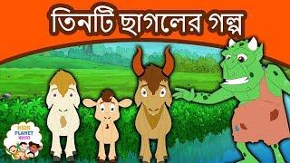 তিনটি ছাগলের গল্প - Bangla Golpo গল্প | Bangla Cartoon | ঠাকুরমার গল্প | রুপকথার গল্প | পশু গল্প