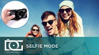sony alpha a6000 mirrorless camera   selfie mode tutorial