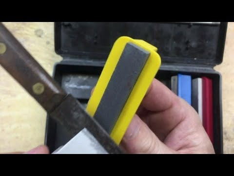 Sharpen a Pocket Knife WITHOUT SCRATCHING the BLADE