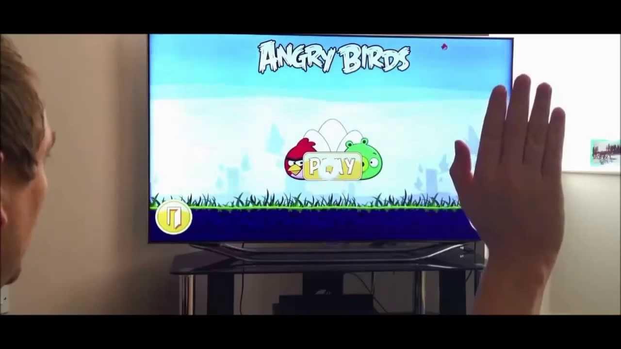 Angry Bird on Samsung Smart TV
