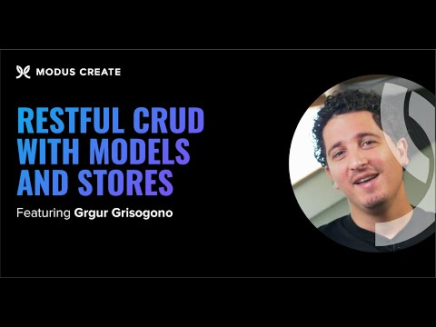 RESTful CRUD with Models and Stores