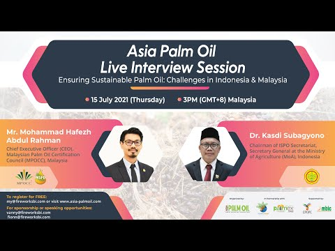 Recorded Version of Asia Palm Oil Live Interview Session is available now!
