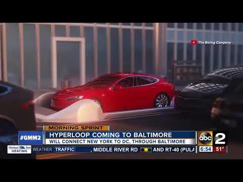 Elon Musk working on bringing Hyperloop to Maryland
