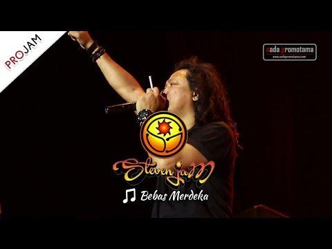 [NEW VIDEO Live Konser] Steven Jam - Bebas Merdeka [PROJAM - JAKARTA SELATAN 26 Agustus 2017]