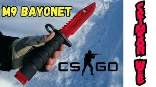 как сделать штык-нож М9 Bayonet скин КРОВАВАЯ ПАУТИНА I НОЖИ ИЗ CS:GO