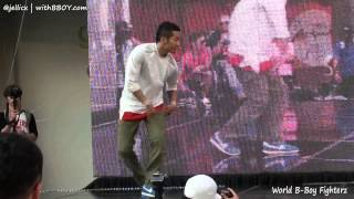 HONG10 vs BLOND(w) | Round16-3 | World B-Boy Fighterz 2012 @Gangnam