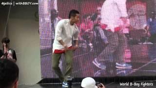 HONG10 vs BLOND(w) | Round16-3 | World B-Boy Fighterz 2012 @Gangnam