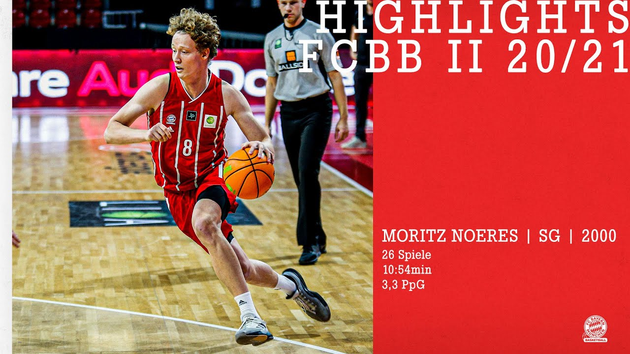 Highlights Moritz Noeres // FCBB II ProB 2020/21