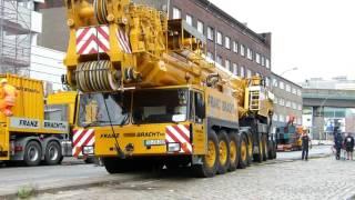 AC 1600 FRANZ BRACHT KG auf einer Baustelle in Hamburg