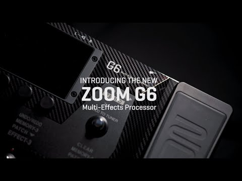 Zoom G6 Introduction Video