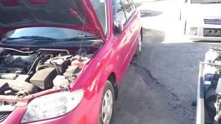 Видео-тест автомобиля Mazda Familia (BJ5W-320893, ZL-DE, красный, 2004г)