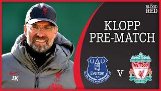 Jurgen Klopp on Alisson, Mané & Thiago Fitness | Everton v Liverpool | Pre-Match Press Conference