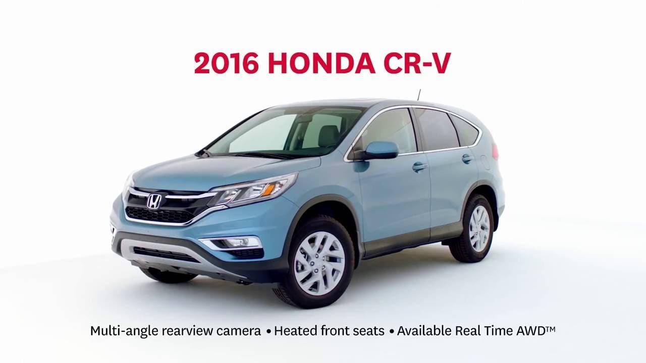 2016 Honda CR-V: ECON Mode on - YouTube