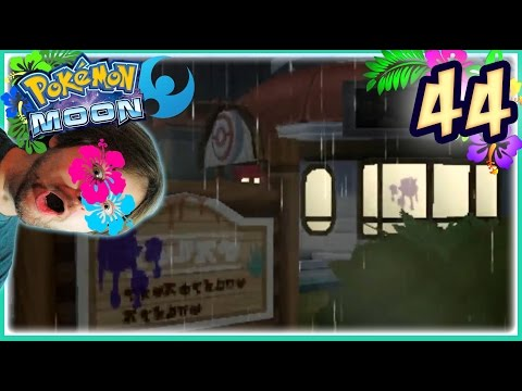 Pokemon Moon Ep.44 Lawless Po Town Mansion!