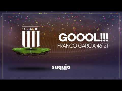 Segundo Gol Racing por Franco García   Relata Matias Barzola   Copa Argentina vs. Peñarol