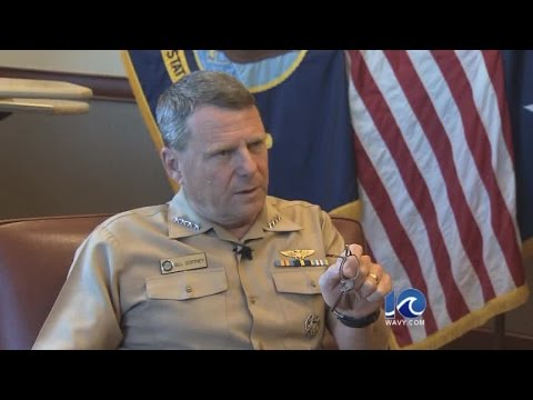Interview with Admiral Bill Gortney on leaving U.S. Fleet Forces Command