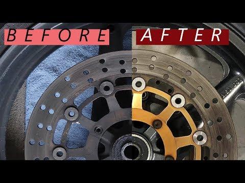Complete Motorcycle Wheel Restoration! (Beginner Bike Build Series Ep. 7)