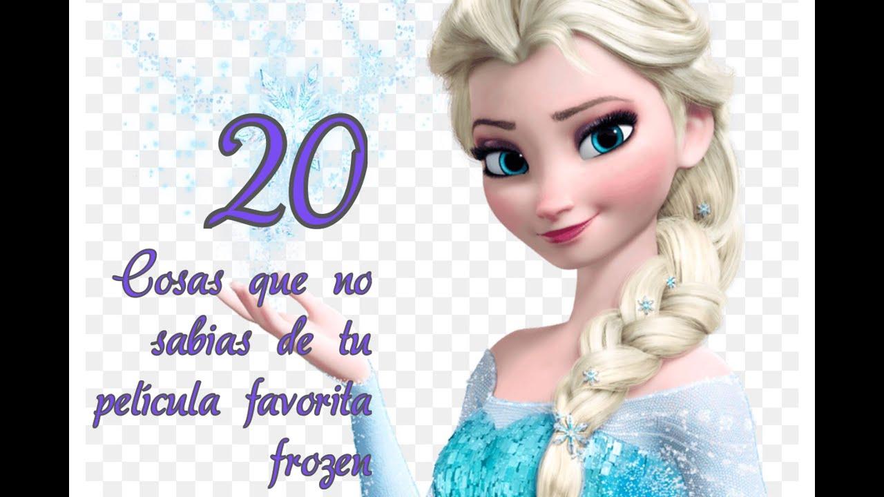 20 cosas que no sabias de la pelicula Frozen una aventura congelada ...