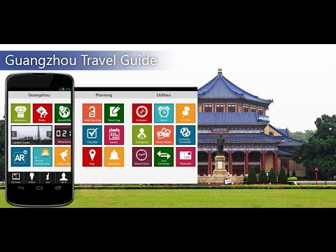 Guangzhou Travel Android App Promo - Pangea Guides