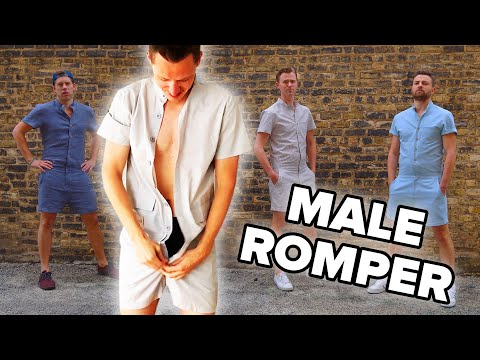 Men Wear Rompers For A Day
