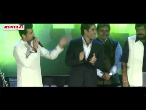 Sonu Nigam at Bharat Ratan Ambedkar Award